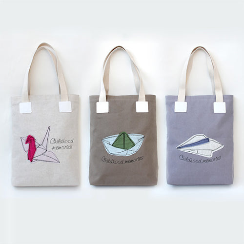 Origami Casual Tote Bag - IZAKKIE Homewares & Gifts  - 1