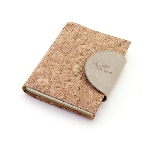 'Low Carbon Living' Cork Cover Notebook - IZAKKIE Homewares & Gifts  - 1