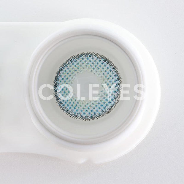 Freshgo Premium Candy LightSkyBlue Prescription Yearly Colored Contacts
