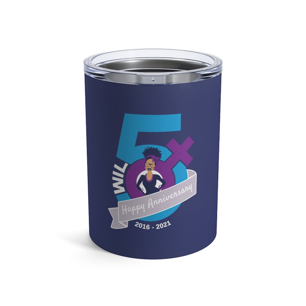 WIL Anniversary Edition Tumbler 10oz - Navy
