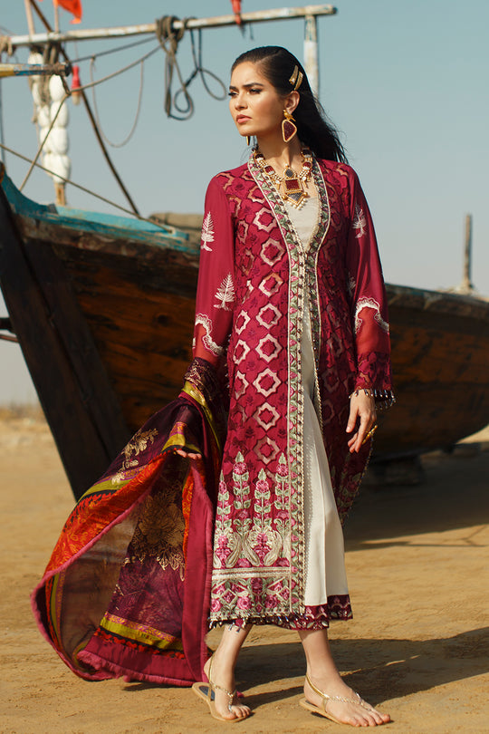 Ilaha Kirmizi Red Lawn Collection