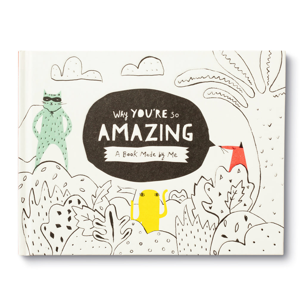 Kids Activity Book - Why You're So Amazing