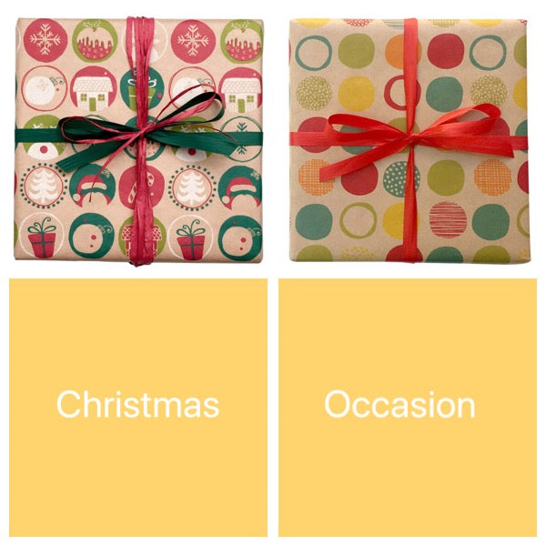 Gift wrapping - select type in notes