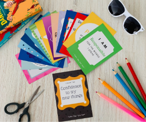 Growing Minds Affirmation cards (7-12 years) - My Memory Books