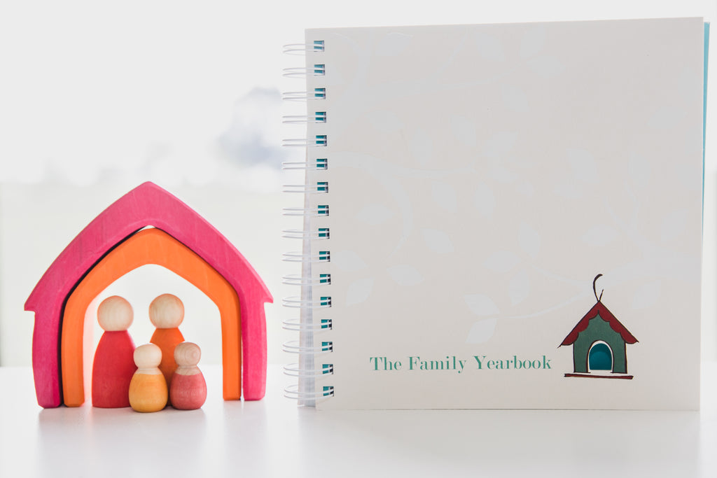 The Family Yearbook - A Once a Year Journal