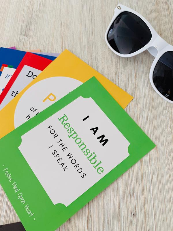 Growing Minds Affirmation cards (7-12 years)