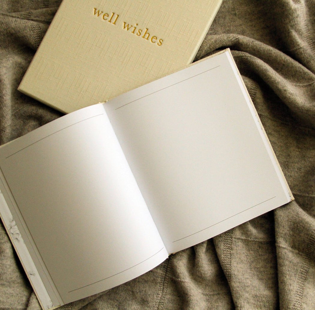 Well Wishes - Guest Book - My Memory Books