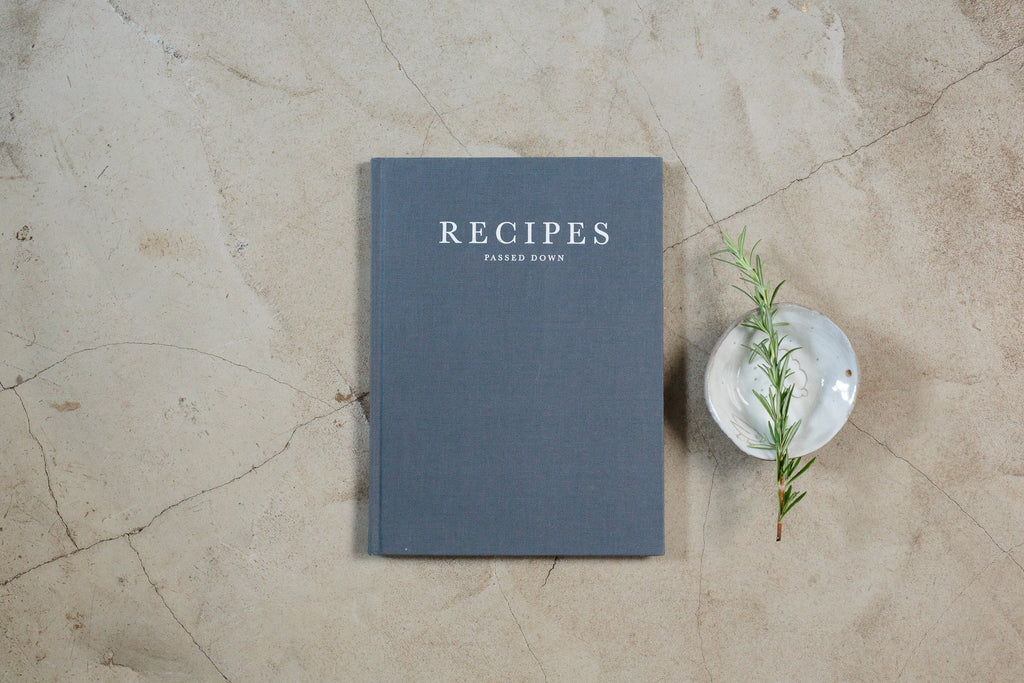 Recipes passed down