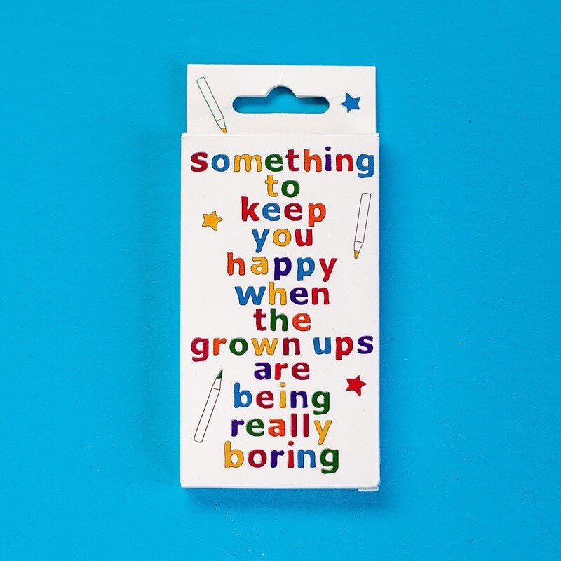Something to Keep You Happy Book with pencils - Christmas
