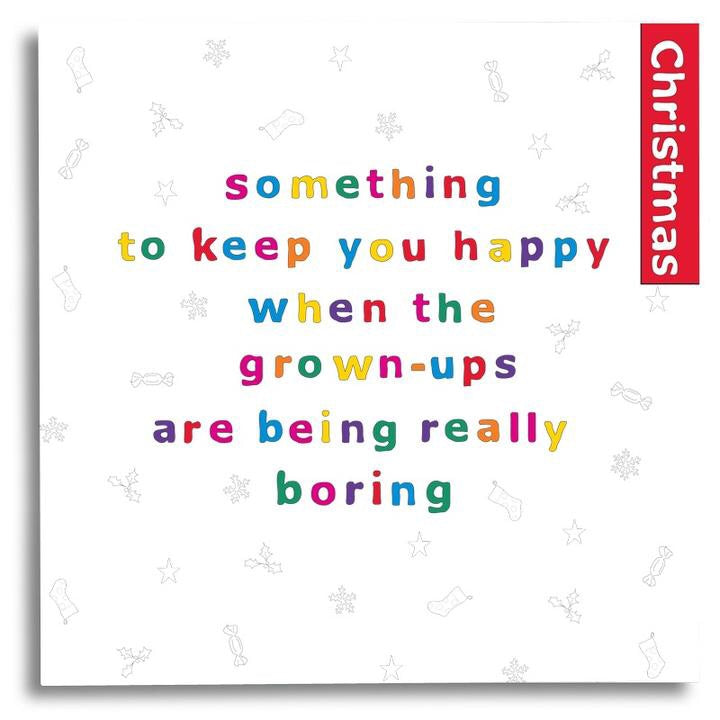 Something to Keep You Happy Book with pencils - Christmas - My Memory Books