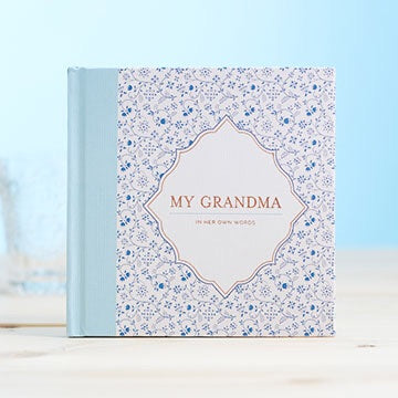 My Grandma - Interview Book - My Memory Books