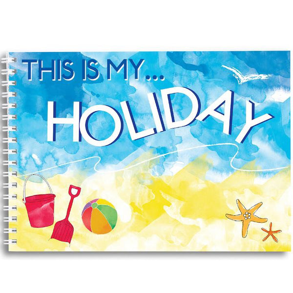 Mini Memory Book - This is my holiday