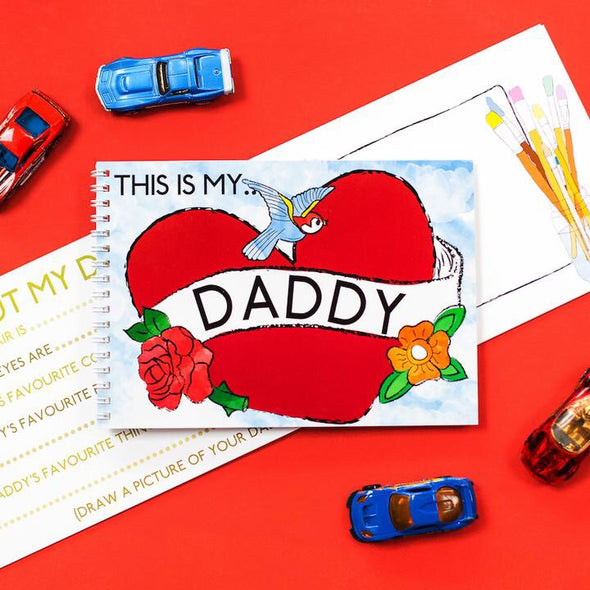 Mini Memory Book - This is my daddy - My Memory Books