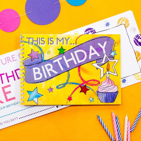 Mini Memory Book - This is my birthday - My Memory Books