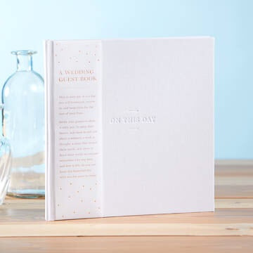 Wedding Guest Book - My Memory Books