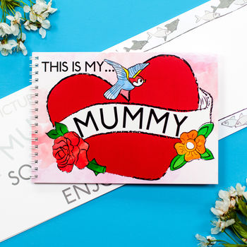 Mini Memory Book - This is my mummy