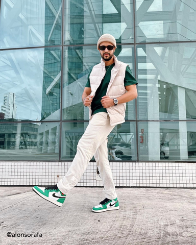 How to style Jordan 1 High Lucky Green