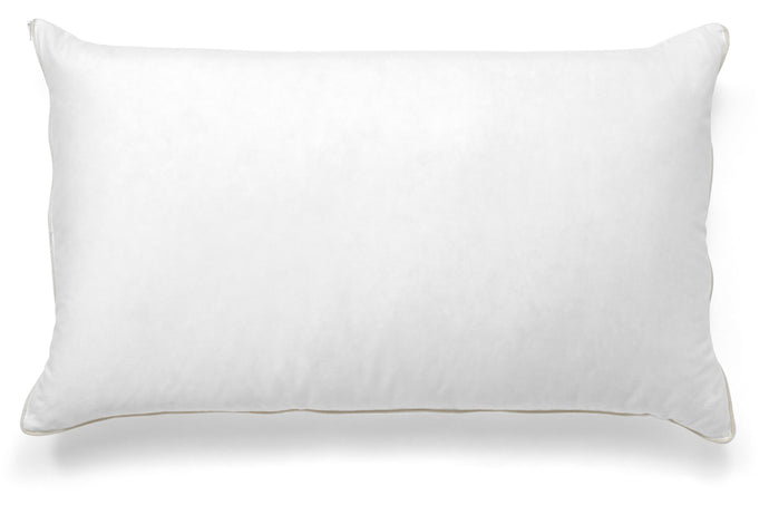 100% duck down pillow with latex core