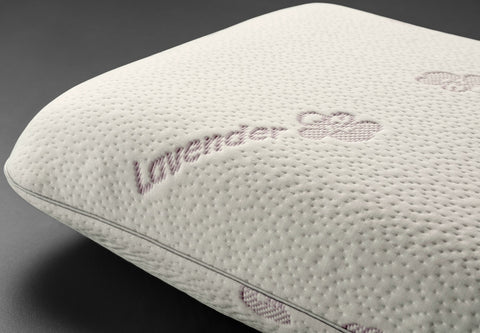Lavender pillow with latex core