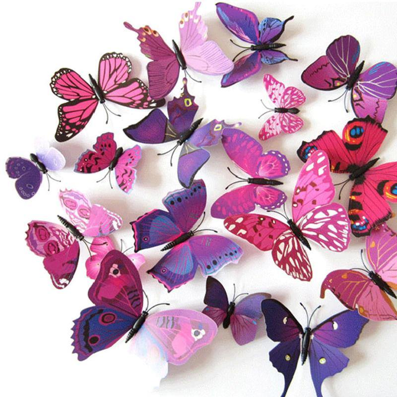 Cool Decoration Butterflies - Ready Made Suits