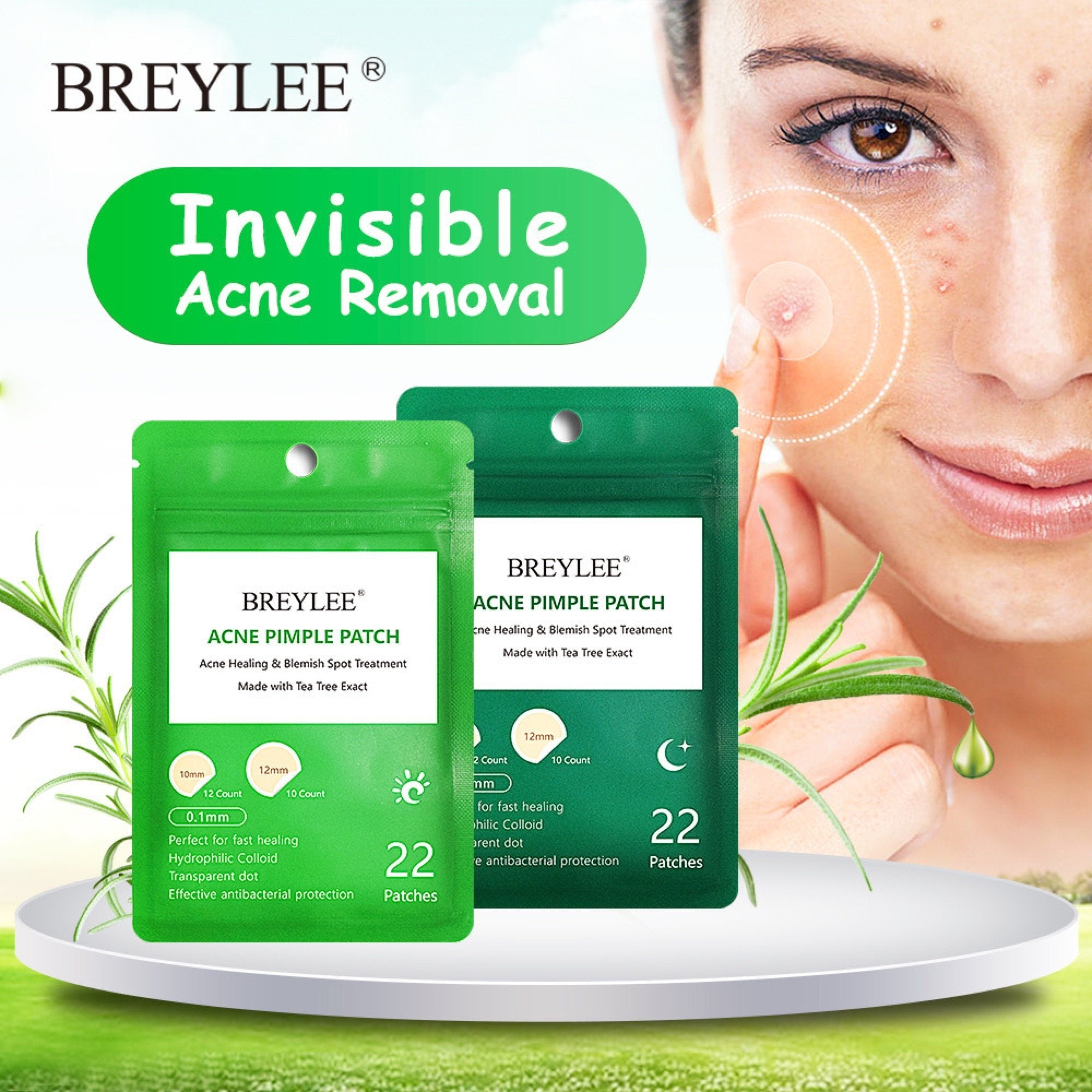 Invisible Acne Removal (Daily Use + Night Use)