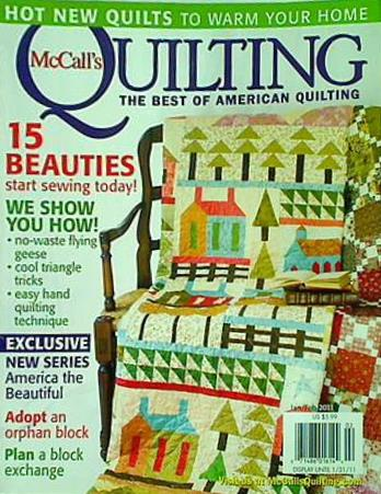 McCALL's Quilting the best of American quilting 15 BEAUTIES start sewing today!