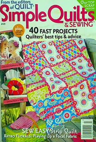 From the editors of Quilt Simple Quilts & Sewing #123