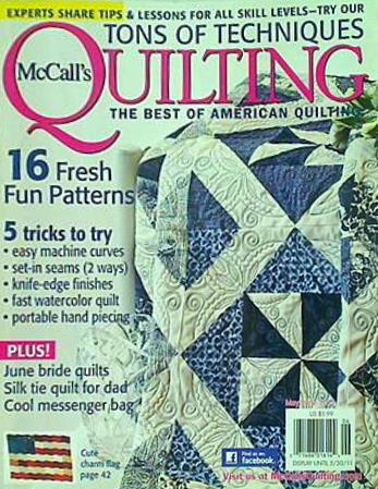 McCALL's Quilting the best of American quilting 16 Fresh Fun Patterns