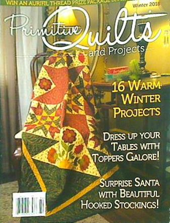 Primitive Quilts and Projects 2018 Winter