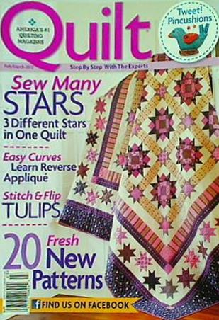 America's quilting magazine Quilt Step by Step with the experts 2012 February March