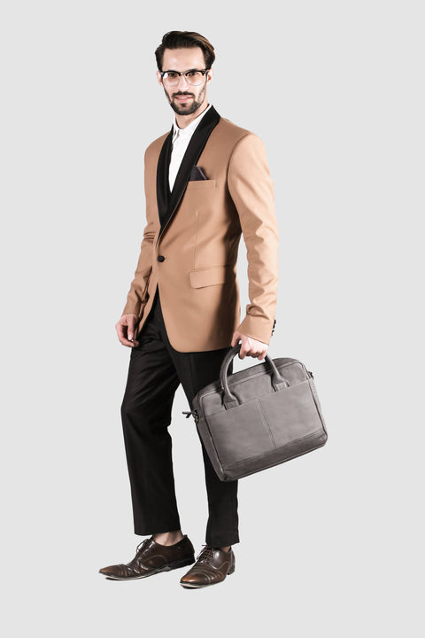 "Classic 13"" Grey Laptop Bag"