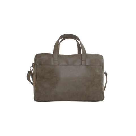 Compact Olive Green Travel Bag
