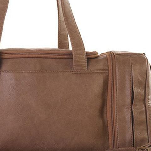 Triga Coffee Brown Travel Bag