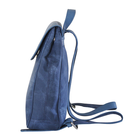 Basic Blue Campus Backpack