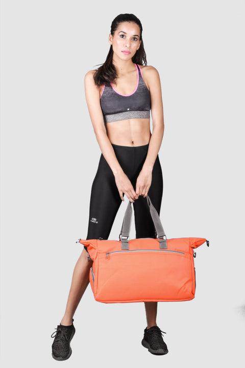 Zing Orange Gym Bag