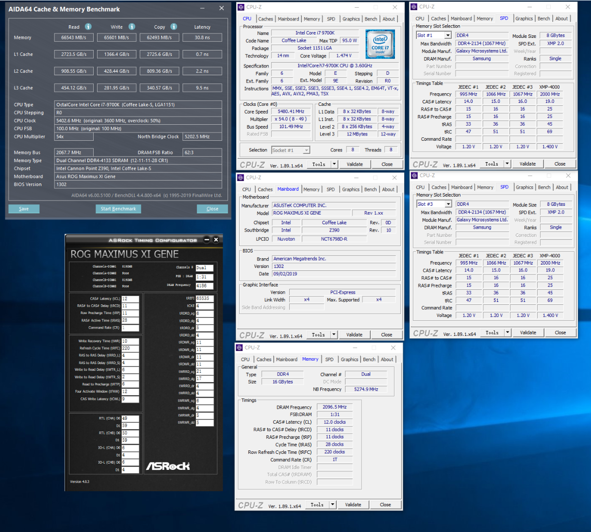 Initial Overclock by WAZA