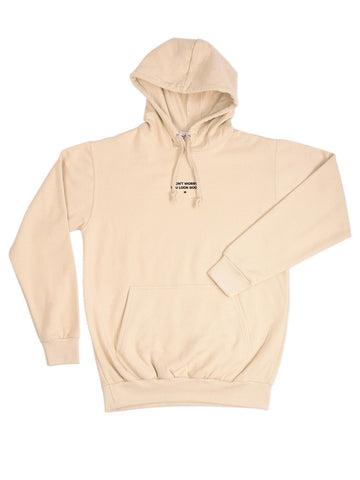 "Hoodie ""you look good"" beige"