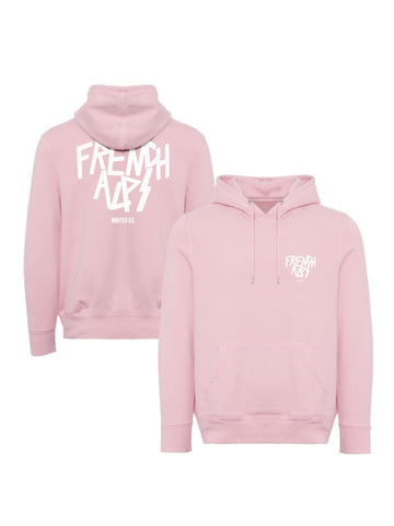 Hoodie French alps rose