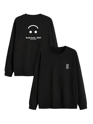 Sweat Smile back original noir