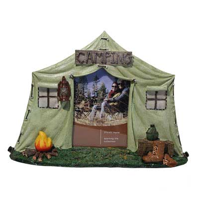 Camping Picture Frame w/Light