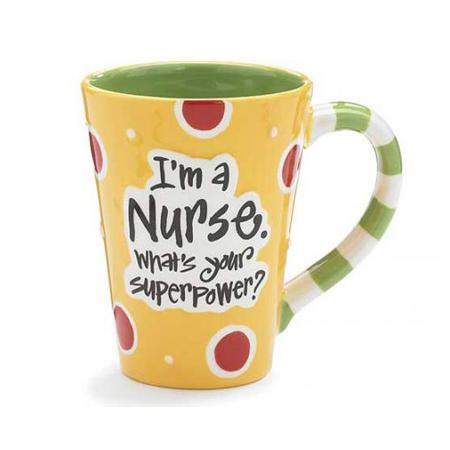 Nurse Superpower Mug