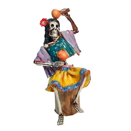 Jimenez Skeleton Playing Maracas
