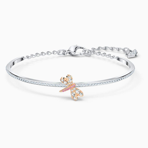 SWAROVSKI - Eternal Flower Bangle -  Pink