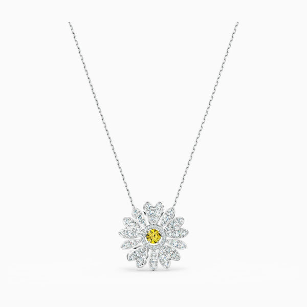 SWAROVSKI - Eternal Flower Pendant - Yellow