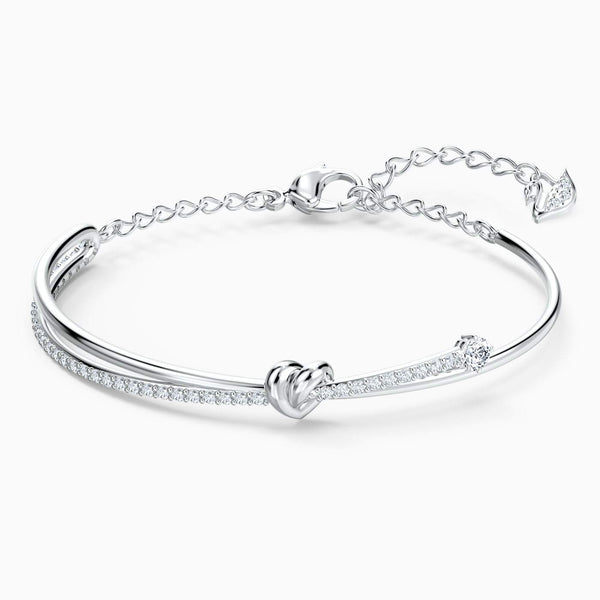 SWAROVSKI - Lifelong Heart Bangle -  White