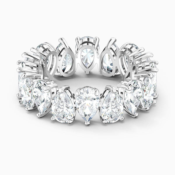 SWAROVSKI - White Vittore Pear Ring