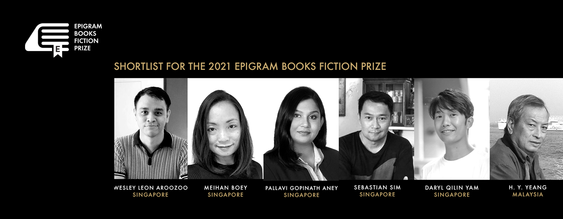Meet the 2021 Epigram Books Fiction Prize shortlist