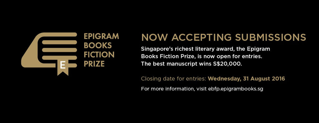 Epigram Books Fiction Prize 2016