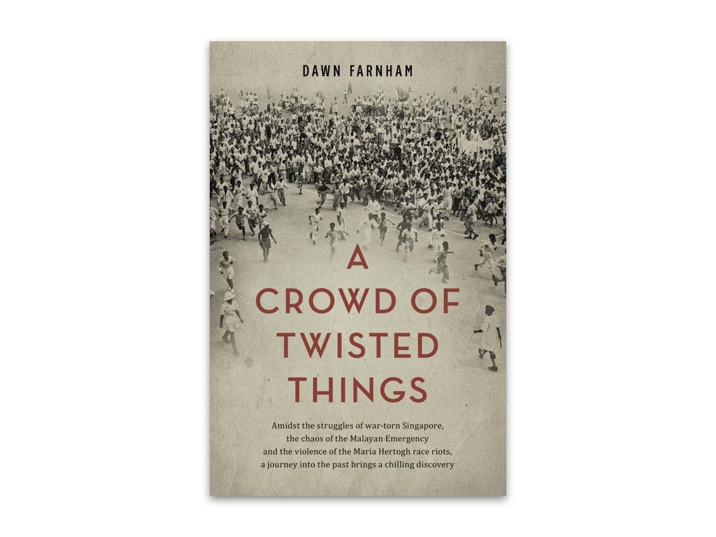 A Crowd of Twisted Things Dawn Farnham bookcover