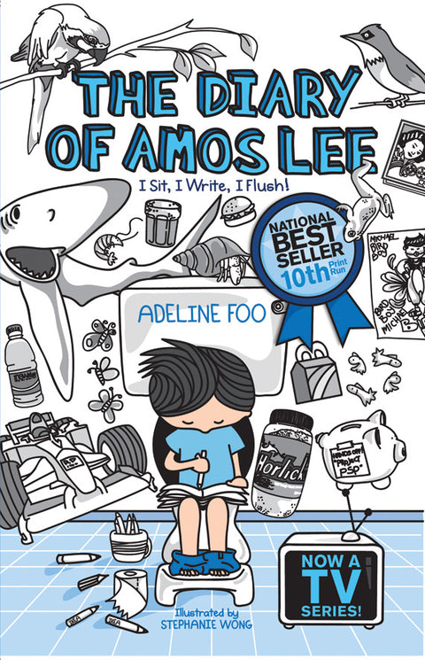 The Diary of Amos Lee: I Sit, I Write, I Flush! (book 1)